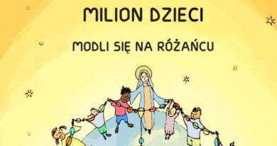"""Akcja modlitewna """"Milion dzieci modli się na różańcu"""""""